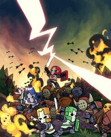 castle crashers by chingisss
