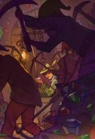 Robin Hood and the Seven Dwarves by SeaOfFireflies