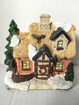 Christmas House Ornament 1 by wintersmagicstock