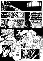 planche BD B and W by SpartanAltair117