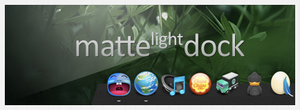 Matte Light Dock. by soydios
