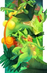 Sceptile by CrowParty