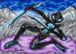 :CP: 1ST Place - Tannakin The Alien Warrior by AceOfSpeed94