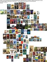 Animal/creatures/furry books collection 2 by Kooskia