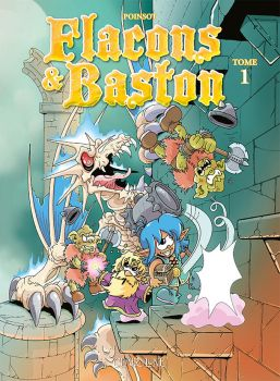Flacons et Baston - couverture tome 1 by MarionPoinsot34