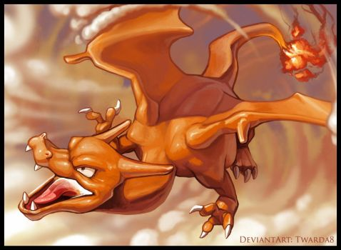 Charizard (regular) by Twarda8