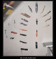 My 'half' knife-collection by rontz