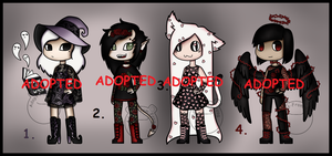 Lace Adopts (CLOSED) by Adopt-From-Frog