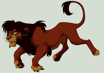 Evil Floaty Kovu by DJCoulzAnimalsOnly