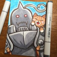 Alphonse Loves Cats by TrulyEpic