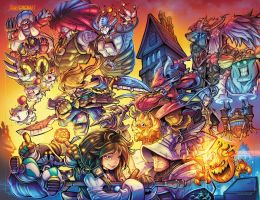 Final Fantasy 9 Tribute by RobDuenas