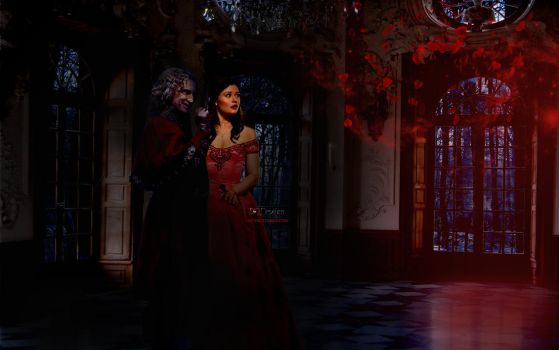 Rumbelle - Valentine's Day by eqdesign
