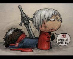 MY name is Dante by DieWolfsseele