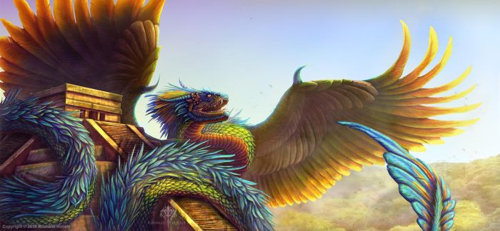 Quetzalcoatl 2018 by TheDragonofDoom