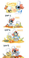 Alphyne - Dinner by Spurkeht