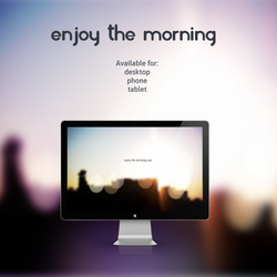 Enjoy the morning by leoatelier