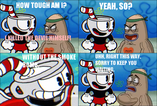 How Tough Are You? Cuphead by luigifan00001