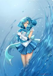 Sailor Mercury by eagiel