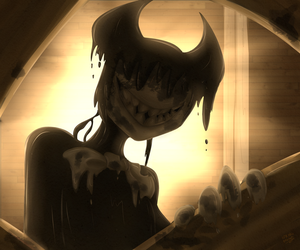 Bendy The Ink Monster by springanima