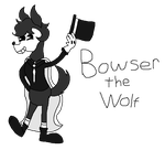 BatIM OC - Bowser the Wolf [REQUEST] by SummerSketch-MLP