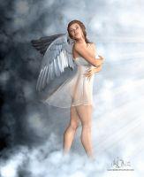 Let me be your Angel 3D by mike-reiss