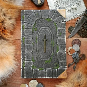 Excalibur inspired book by MilleCuirs