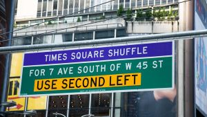 Time Square Shuffle by parka