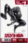 Superior Spiderman blank sketch cover