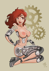 Robot Girl by Big-Rex
