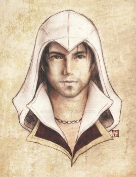 Ezio Auditore by trixdraws