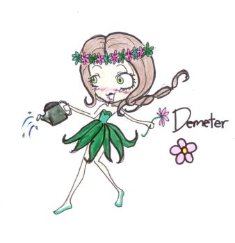 Little Demeter by smudgedfingers