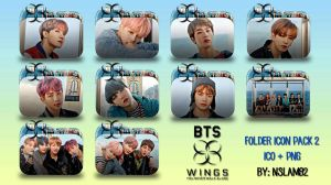 BTS You Never Walk Alone Folder Icon Pack 2 by nslam92
