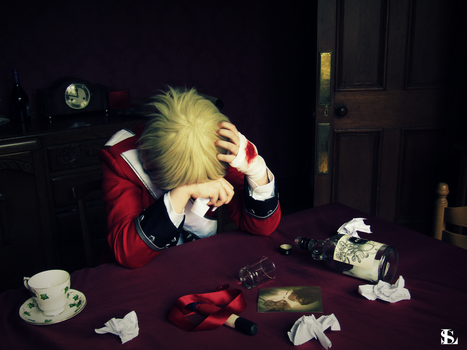 Hetalia - Wanting to forget. by Silent--Laughter