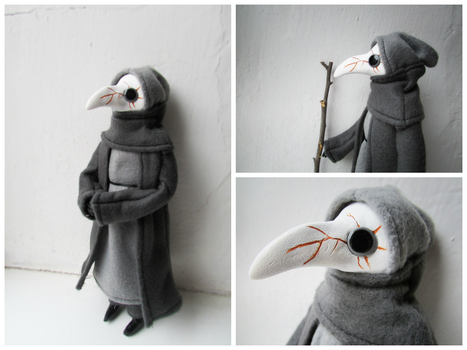 Variation on a Plague Doctor by MarrieKo