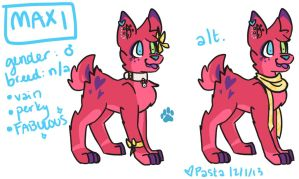 Fab Dog Adoptable [AUCTION] [CLOSED] by ace-pyro