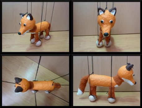 Marionette Fox by Tienala