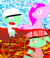 flippy and fliqpy-good and bad by cupcakecat123123