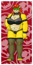 Queen of the Koopas - Lingerie Version by VJMorales