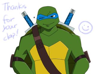 Clap your hands2 +Leonardo+ by roy-tailor
