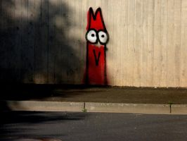 Grafitti monster by BlackCrystalX