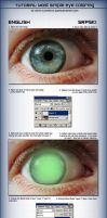 Simple Eye Coloring Tutorial by Qzma