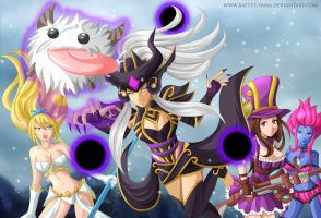 League of Legends Poro in danger by Bastet-sama