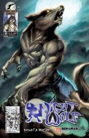 Night Wolf Comic Book Issue #2 Cover Variant B by RAM-Horn