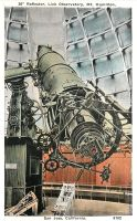 Vintage California - Lick Observatory, San Jose by Yesterdays-Paper