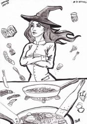 Cook Witch day 27 inktober 2016 by NitenNoYume