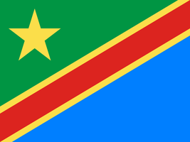 Flag of the United Republic of the Congo by hosmich