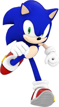 Sonic Dash 2 Sonic Boom Pose (Redone). by JaysonJean