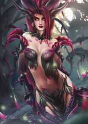 League of Legends - Zyra by Eldervi