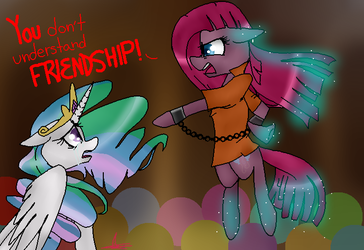 You Don't Understand FRIENDSHIP! by PaintedBlossom