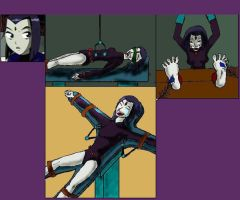 Raven in the tickle lab2. by Mark5217